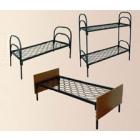 Кровати металлические для бытовок, кровати трёхъярусные для рабочих, кровати одноярусные металлические для вагончиков. дёшево
