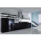 кухня черная