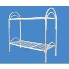 Металлические кровати для бытовок, кровати для вагончиков, кровати для лагерей, кровати металлические с ДСП спинками для санаториев.