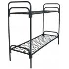 Кровати металлические для бытовок, кровати трёхъярусные для рабочих, кровати одноярусные металлические для вагончиков.