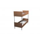 Железные двухъярусные кровати для бытовок, кровати для общежитий,  металлические кровати для интернатов, школ. Дёшево.