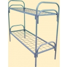 Металлические кровати для пансионатов, кровати для детских лагерей, кровати одноярусные и двухъярусные, дёшево.