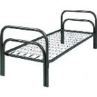 Железные двухъярусные кровати для бытовок, кровати для общежитий,  металлические кровати для интернатов, школ