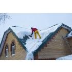Уборка снега с крыш и дворов