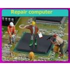 Замена чипа и видеоматрицы при ремонте ноутбука, ПК