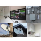 Установка видеонаблюдения, Интернета, телевидения