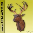 Голова оленя на стену, голова лося из дерева, подарочные наборы для самостоятельной сборки