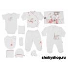 Комплекты одежды для новорожденных из натуральных тканей в Москве! Бесплатная примерка на дому!