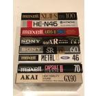 Коллекционные аудиокассеты Лот 8 шт