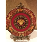 Тарелка Versace Medusa 31см Версаче Медуза