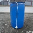"""Бочки пластиковые 227 л с встроенным краном 1/2"""" и нагревателем воды на 1,5 кВт"""