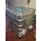 Еврокубы емкости пластиковые 1000 л с встроенными водонагревателями 2*1,5 квт утепленные
