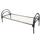 Кровать металлическая с матрасом