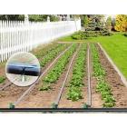 Капельная эмиттерная лента полива растений Tuboflex длина 25 метров шаг 50 см