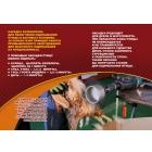 Машинка на дрель ёрш Duckmaster перосъёмная насадка для ощипа курицы утки гуся индюков