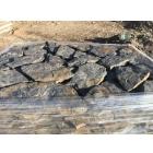 Камень натуральный Дракон синий природный пластушка песчаник