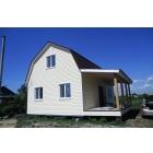 Проекты дачных домов с мансардой.