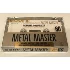 Аудиокассета Sony Metal Master 60