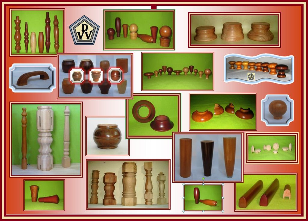 Фурнитура и любые комплектующие детали из дерева для мягкой .