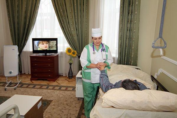 Частный дом для лежачих больных