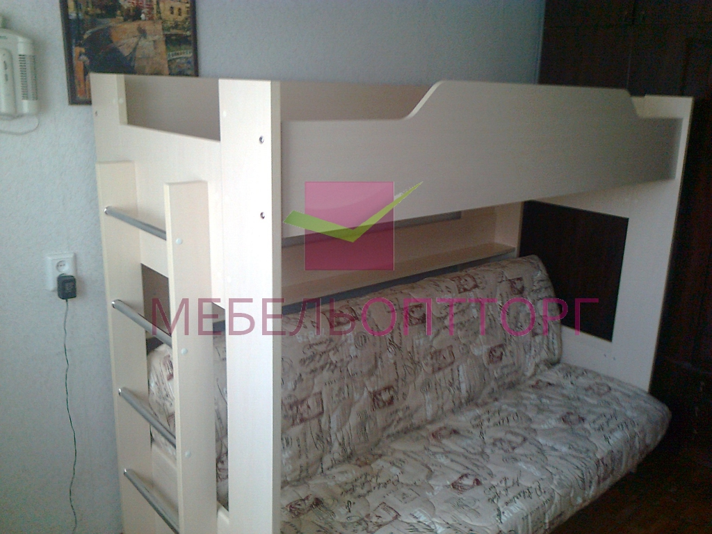 Двухъярусная Кровать Диван Цена