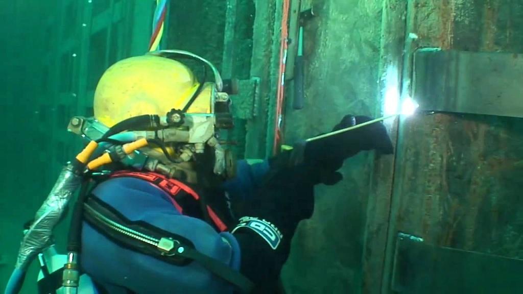 сварка подводных лодок